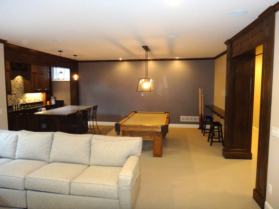custom basements basements fusion home improvement