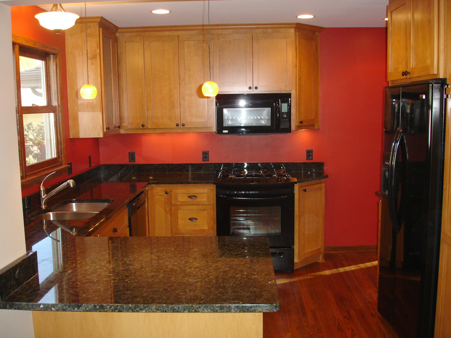 We Removed The Wall Dividing Kitchen And Dining Room To Open Up This Mpls