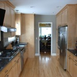 Minneapolis galley style kitchen remodel.