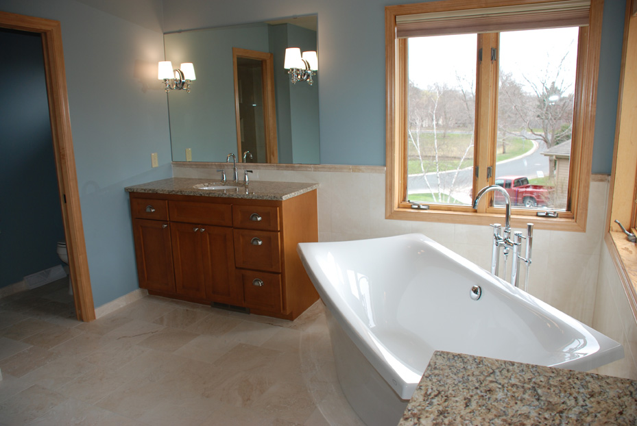 Custom Bathroom Vanities Mn bathrooms - fusion home improvement