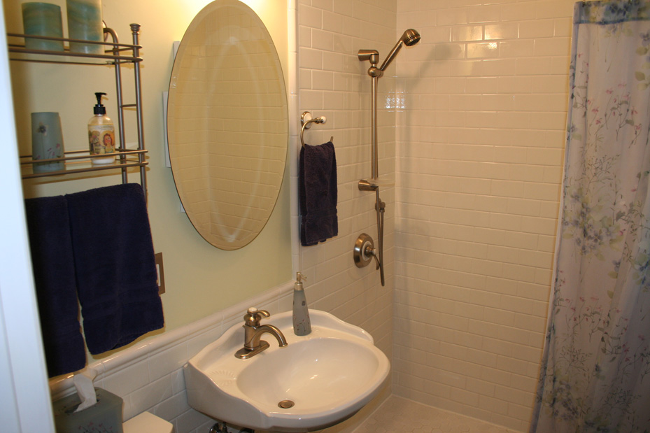 Exceptional Bathroom Remodel In The Crocus Hill Neighborhood With White Subway Tile And  Kohler Fixtures.