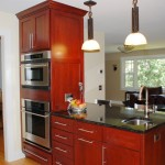 Edina, MN kitchen remodel that was coupled with extensive wall removal to create a great room feel on the main level.