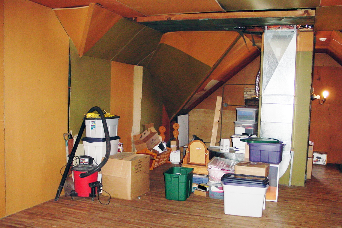 Before-Attic Kitchen