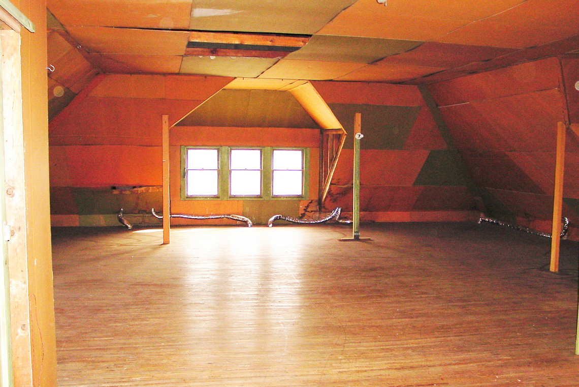 Before-Attic Remodel