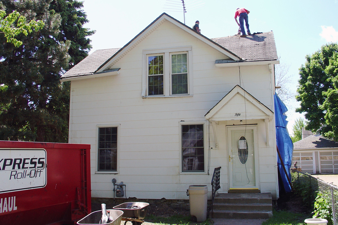Before-Exterior Remodel