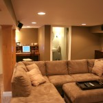 Edina basement remodel.