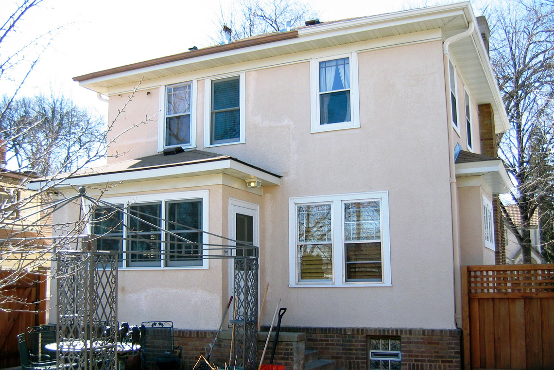 Before-Exterior Addition