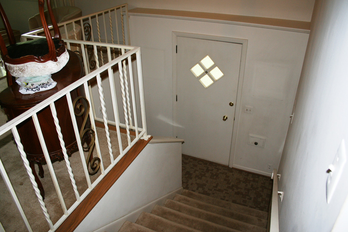 Before-Stairwell Remodel